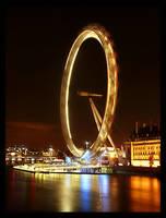 London Eye by shutterpink