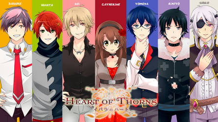 Heart of Thorns characters by irask