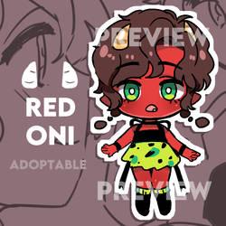 Adoptable: Red Oni