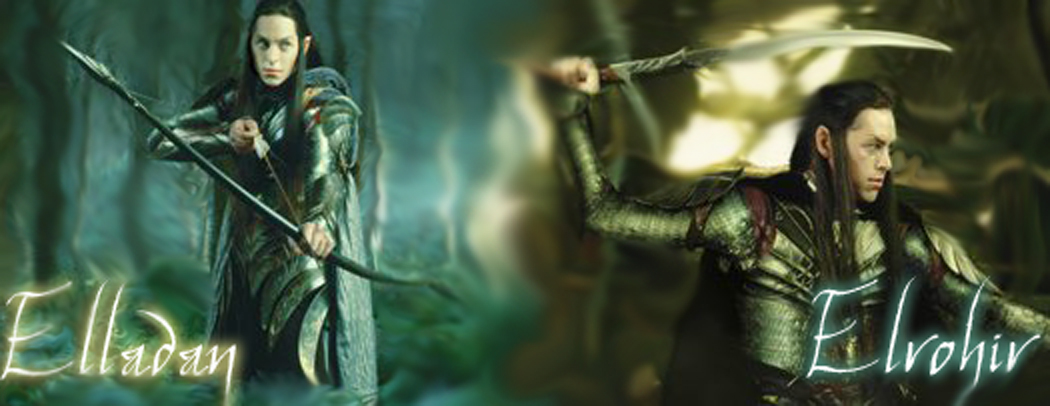 Elladan and Elrohir by ParadiseLost589