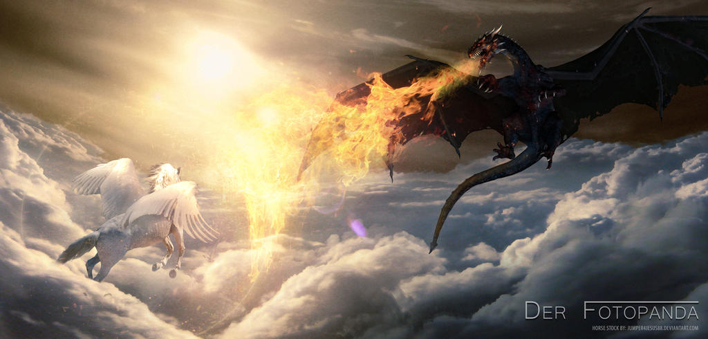 Dragon vs. Pegasus