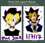 meme  before and after by bampire-d2xu044 YUGIMOTO