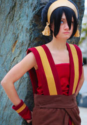 Toph Beifong by Rinachur