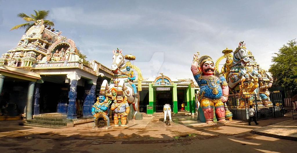 Sri Villayauthamudaiya  Ayyanar temple by katymousso