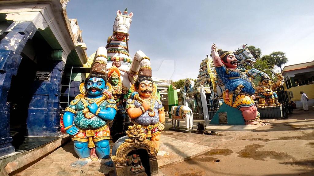 Sri Villayauthamudaiya  Ayyanar temple 2 by katymousso