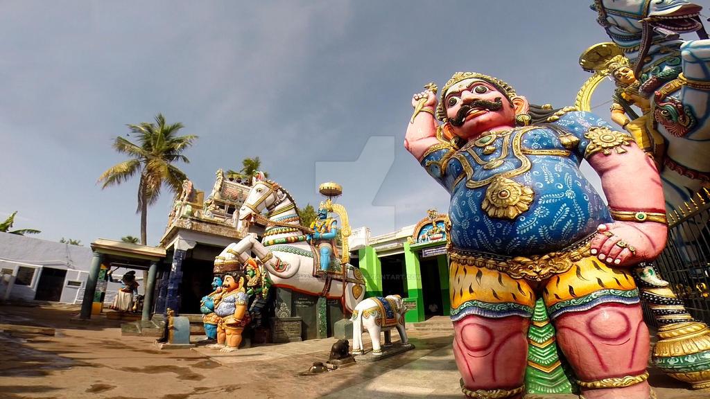 Sri Villayyuthamudaiya Ayyanar  temple 4 by katymousso