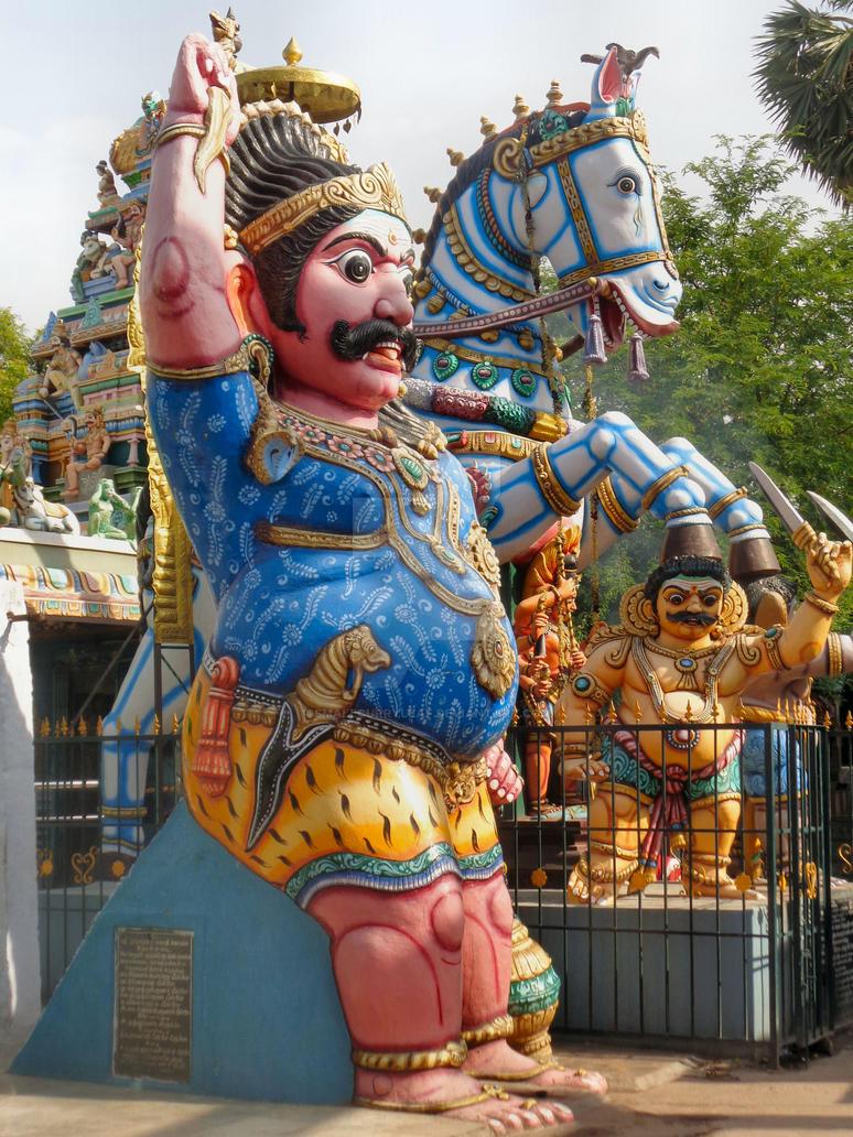 Sri Villayauthamudaiya  Ayyanar temple 5 by katymousso