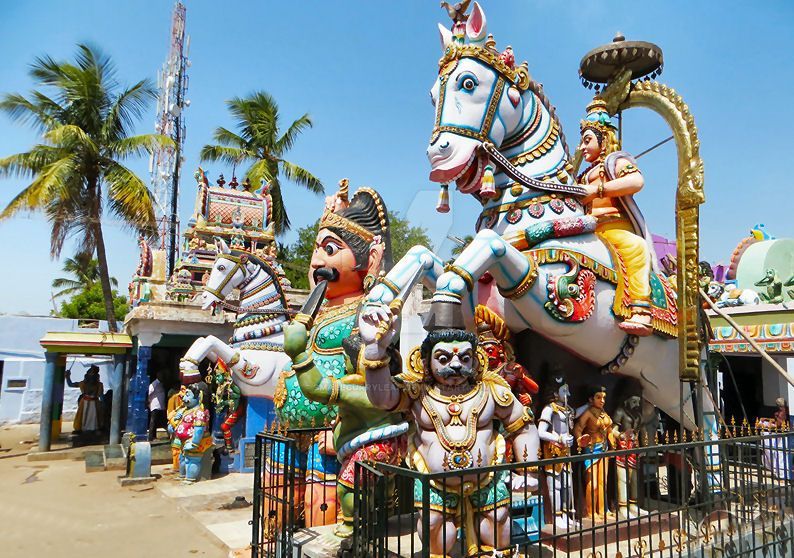 Sri Villayauthamudaiya  Ayyanar temple 6 by katymousso