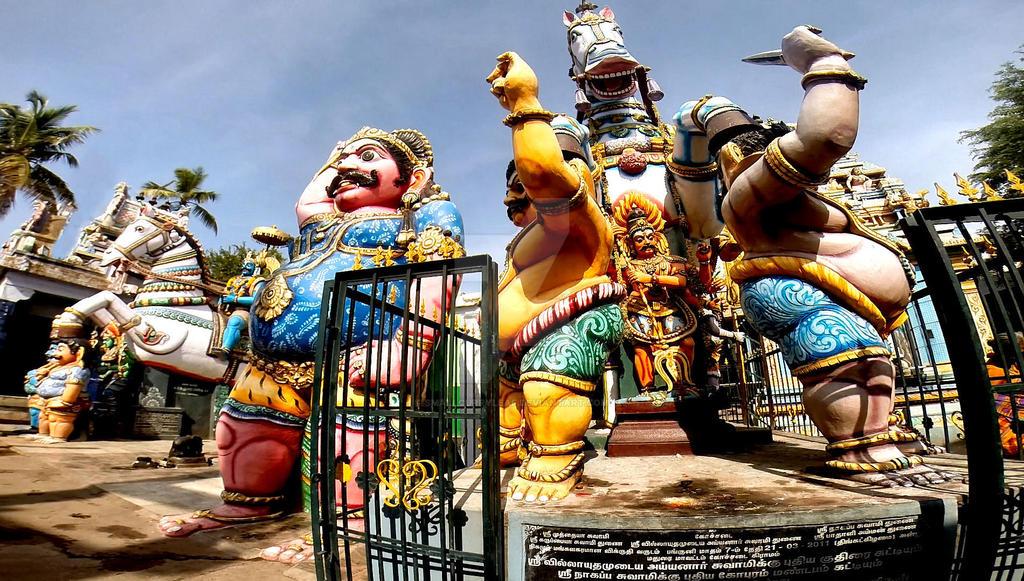 Sri Villayauthamudaiya  Ayyanar temple 7 by katymousso
