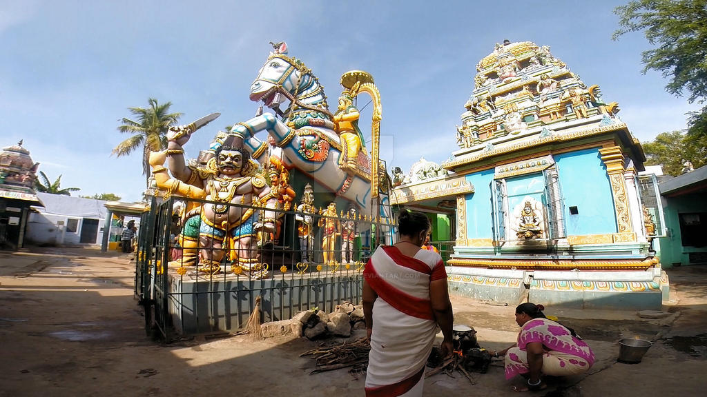 Sri Villayauthamudaiya  Ayyanar temple 8 by katymousso