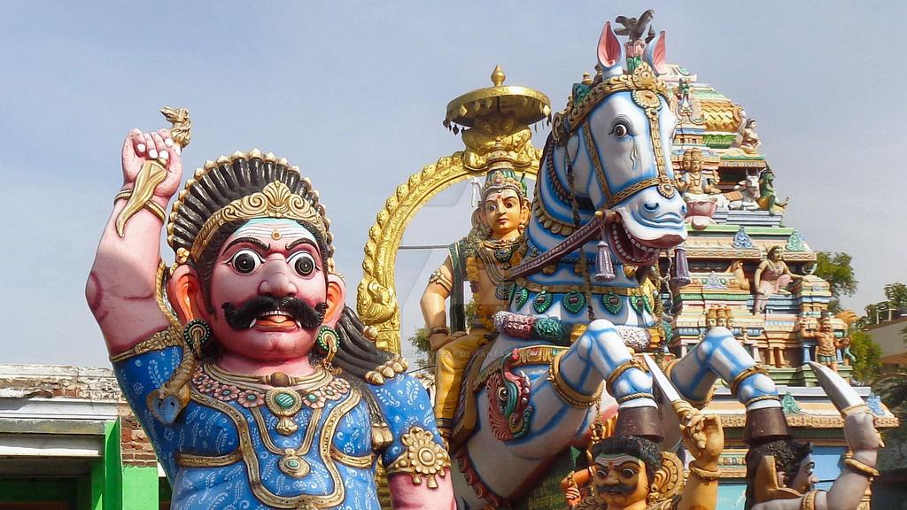 Sri Villayauthamudaiya  Ayyanar temple 9 by katymousso