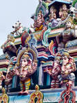 Sri vedapureeswarar temple detail by SmallCurryLeaf