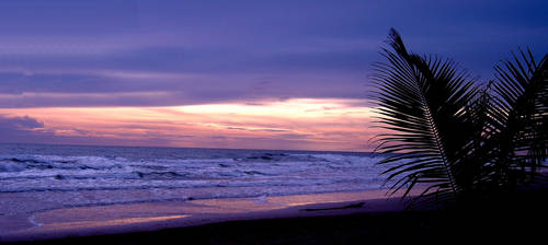 purple sunset on Koh Chang 2