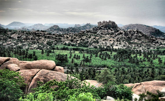 Over the hill  Malyavanta Raghunath