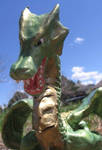 Polymer Dragon shot 1 by thisNoneThis