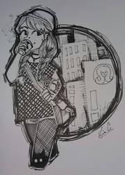 Day 4 ~ urban witch by liliatura