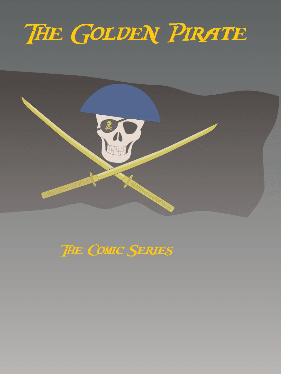 The Golden Pirate - Comic Series - Cover