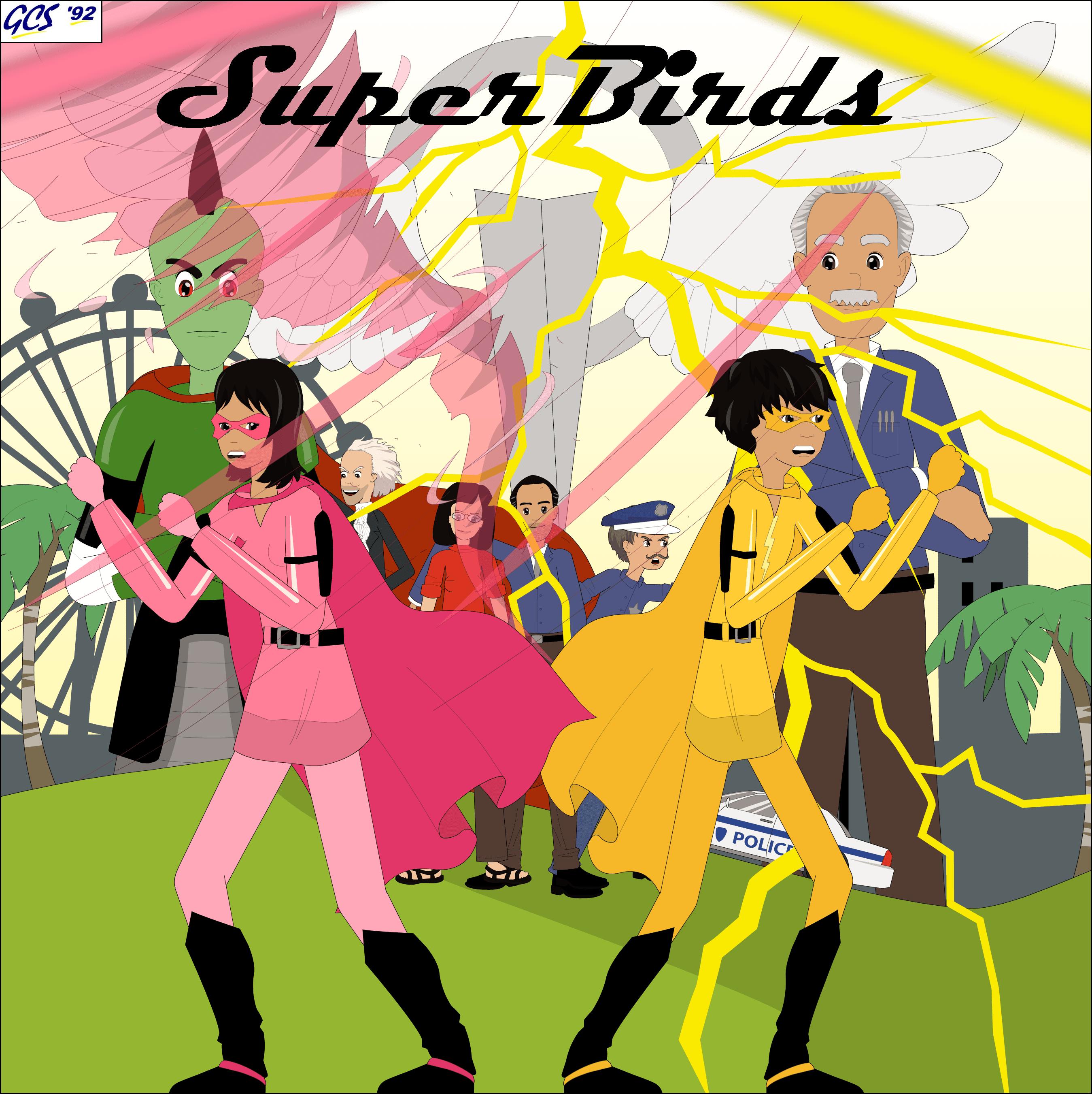 SuperBirds - Comic Series - Cover