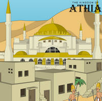 Kingdom of Athia - City of Ataba Concept Preview