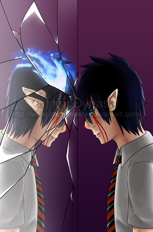 Ao No Exorcist - Demon Within by ImpDynasty on DeviantArt