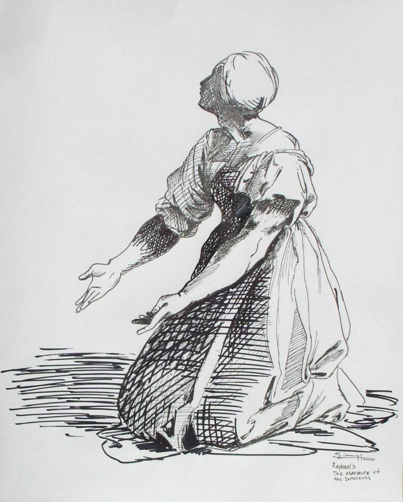 Study of Raphael's work 3