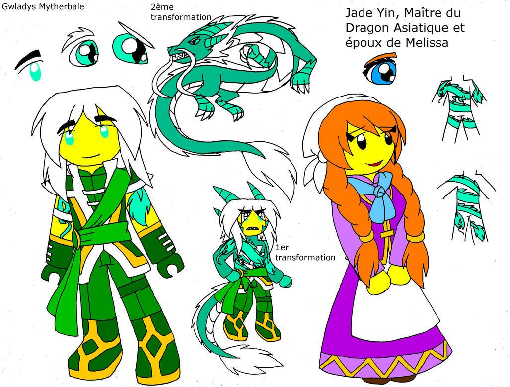 Jade Yin Et Melissa By Mytherbale On DeviantArt
