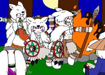 La Danse du Loup by mytherbale