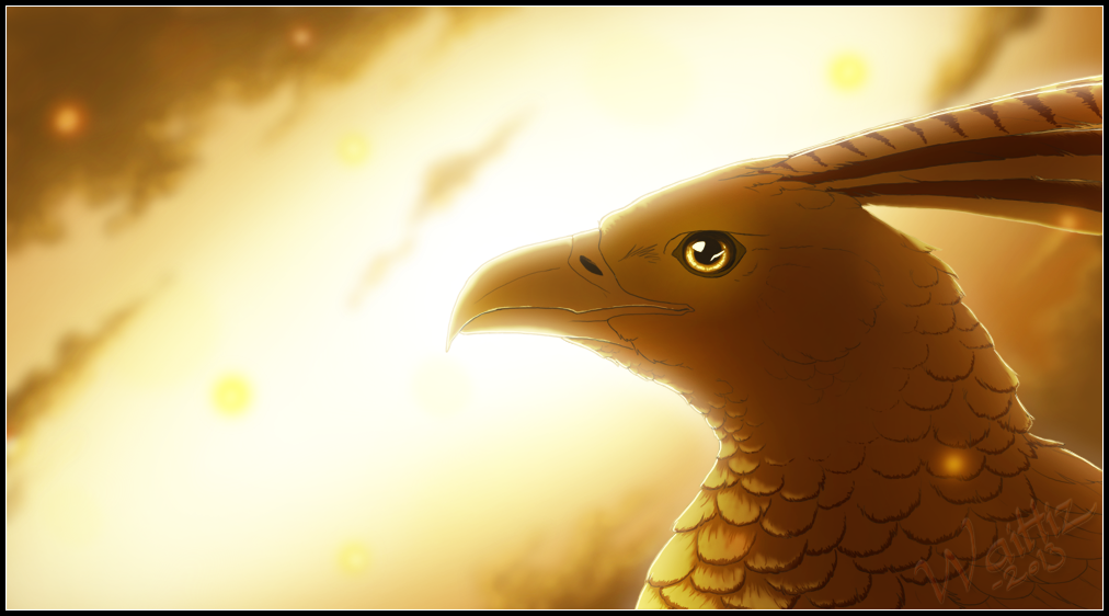 Golden Skies by Waittiz