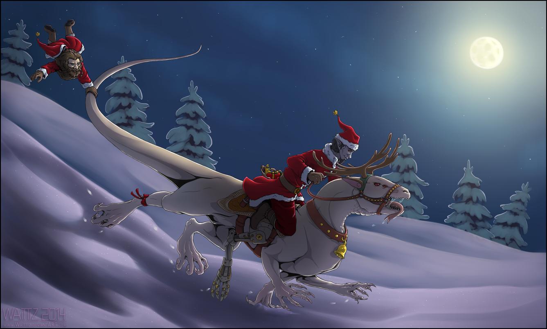 Christmas... thing 2014 by Waittiz