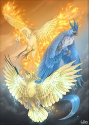 Winged Mirages by Waittiz