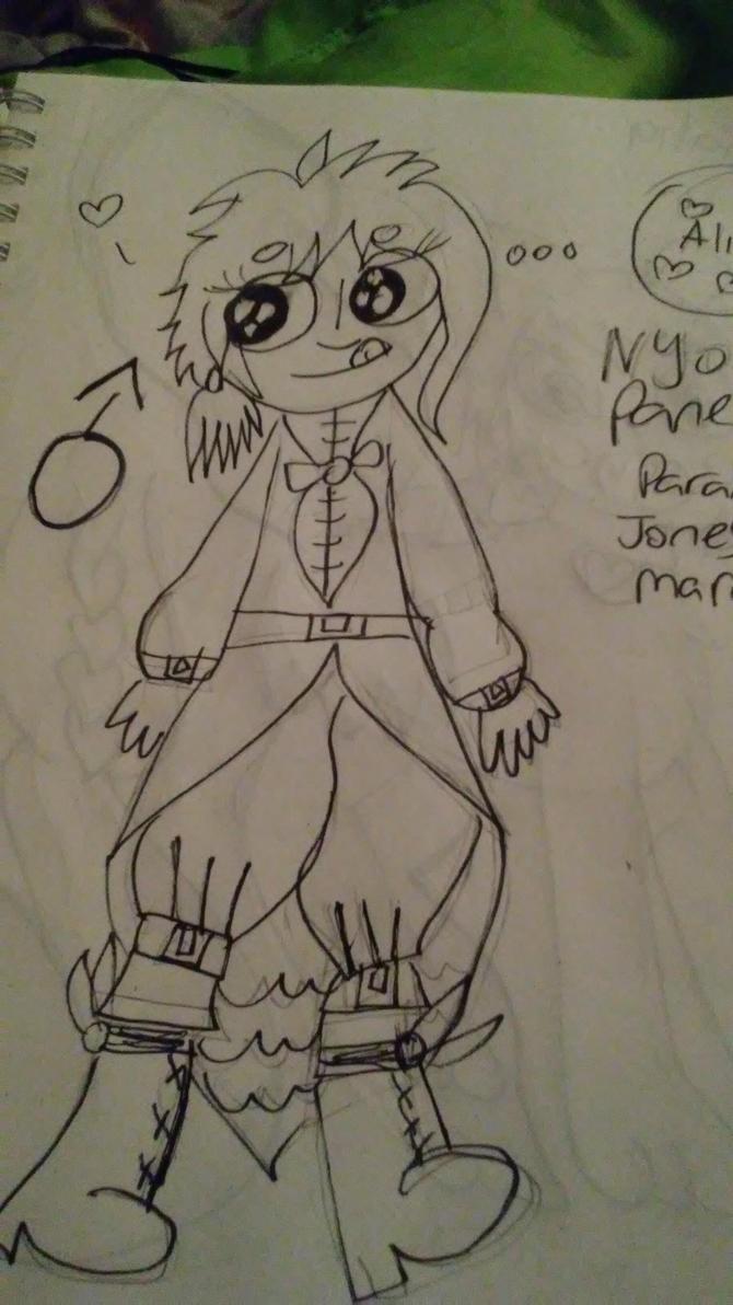 Nyo! Panem: Paramour Marrowhim-Jones by BrideOfTheBabadook