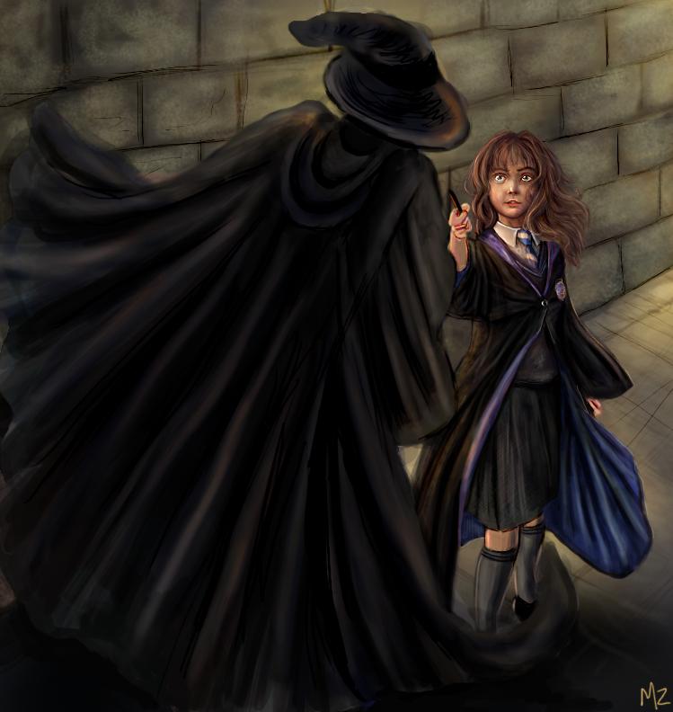 Hermione vs HatnCloak