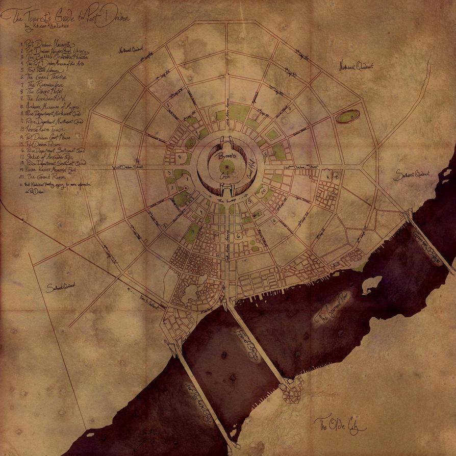 Port Drebon map by Mahasim