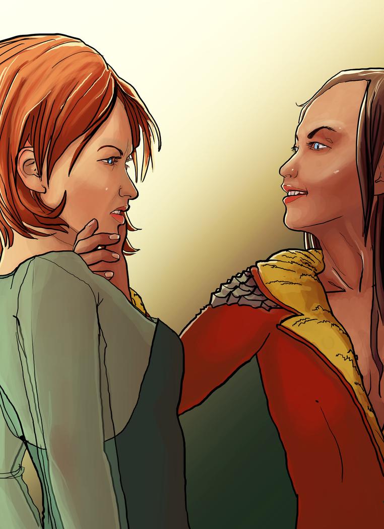 Irene taunting Amalia by Mahasim