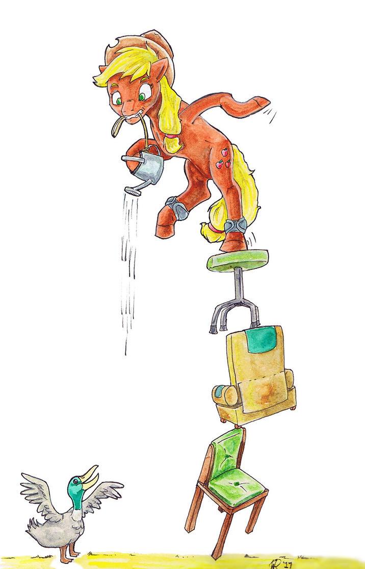 Week 311 ATG - Impractical Applejack by AnimatorWil