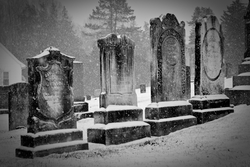 Old Tennant Cemetery by ffolkes