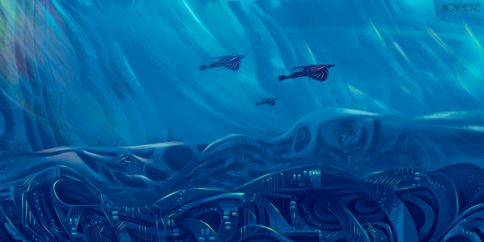 Environment Concept Art 2 by SylviaRitter