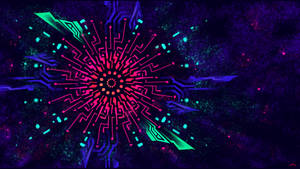 Wallpaper, Sacred Blacklight, part four by SylviaRitter