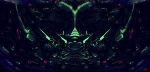 Nowhere concept art - Sacred Blacklight, part ten by SylviaRitter