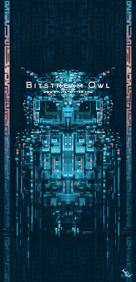 Bitstream Owl by SylviaRitter