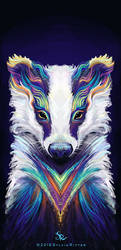 Breezy Badger by SylviaRitter