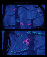 Enchanted Forest Concept Art II by SylviaRitter