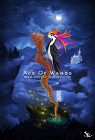 Ace of Wands by SylviaRitter