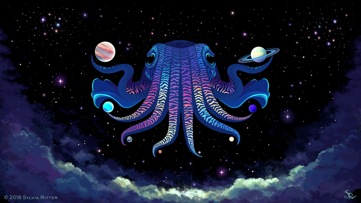 Cosmic Cuttlefish by SylviaRitter