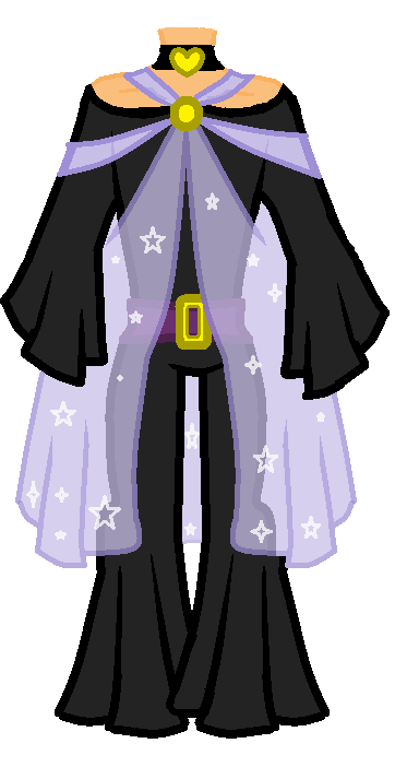 Star outfit adoptible by theartisan2