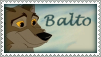 Balto Stamp by Nyxity