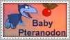 Baby Pteranodon Stamp by Nyxity
