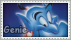 Aladdin: Genie Stamp by Nyxity
