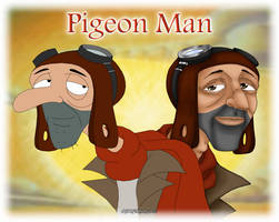 HA: Pigeon Man by Nyxity