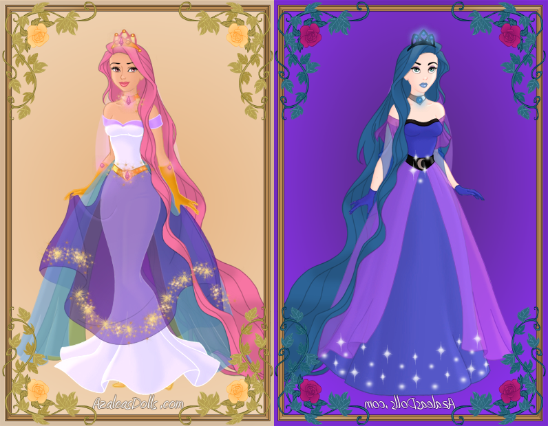 Heroine Crea... First Night Dress Up Games